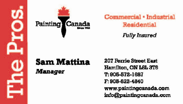 Painting Canada Inc.  The Pros