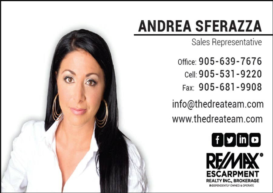 Andrea Sferazza-Re/Max Escarpment Realty