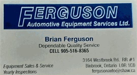 Ferguson Automotive Equipment Services Ltd.