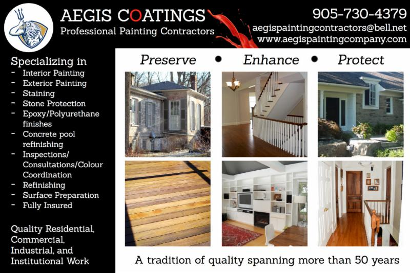 Aegis Coatings Professional Painting Contractor